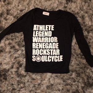 Soulcycle long sleeve